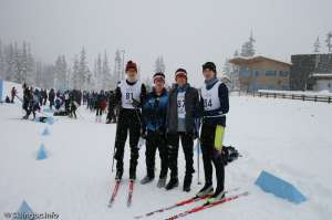 Skiers-Before the race